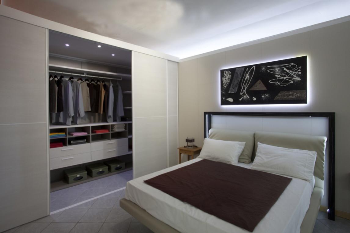 Arredo casa palmieri arredamenti mobili a reggio emilia la zona notte - Camera da letto con tv ...